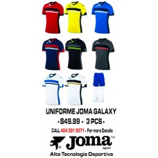 GALAXY JOMA UNIFORME 8 COLORS AVAILABLE